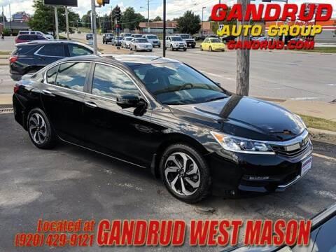 2017 Honda Accord for sale at GANDRUD CHEVROLET in Green Bay WI