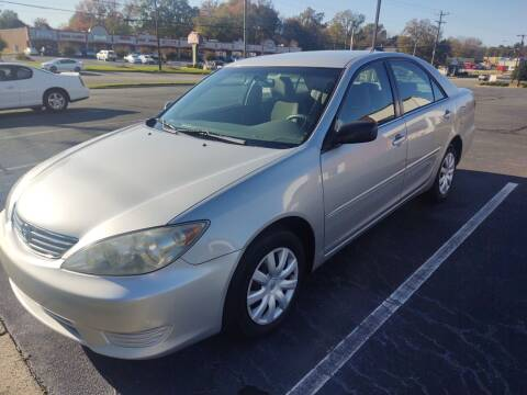 2005 Toyota Camry for sale at Ray Moore Auto Sales in Graham NC