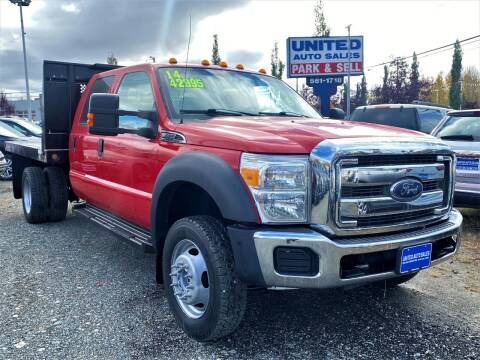 2014 Ford F-550 Super Duty for sale at United Auto Sales in Anchorage AK
