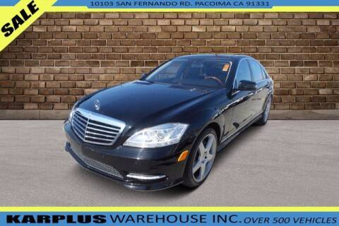 2011 Mercedes-Benz S-Class for sale at Karplus Warehouse in Pacoima CA