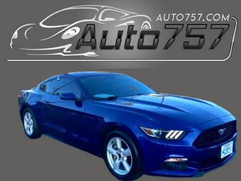 2015 Ford Mustang for sale at Auto 757 in Norfolk VA