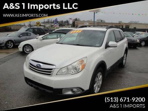 2011 Subaru Outback for sale at A&S 1 Imports LLC in Cincinnati OH