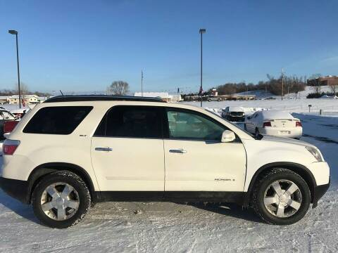 2007 GMC Acadia for sale at Cannon Falls Auto Sales in Cannon Falls MN
