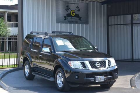 2012 Nissan Pathfinder for sale at G MOTORS in Houston TX