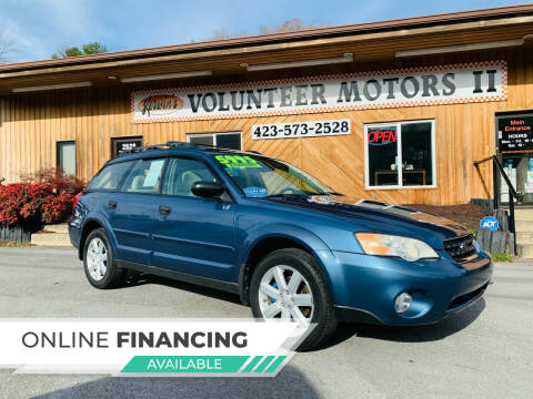2007 Subaru Outback for sale at Kerwin's Volunteer Motors in Bristol TN