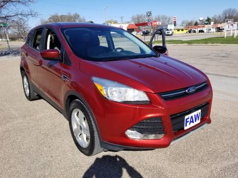 2014 Ford Escape for sale at Faw Motor Co in Cambridge NE