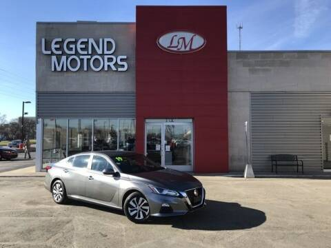 2019 Nissan Altima for sale at Legend Motors of Waterford - Legend Motors of Ferndale in Ferndale MI