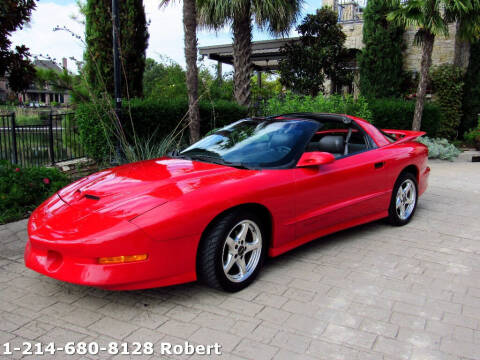 1997 Pontiac Firebird for sale at Mr. Old Car in Dallas TX