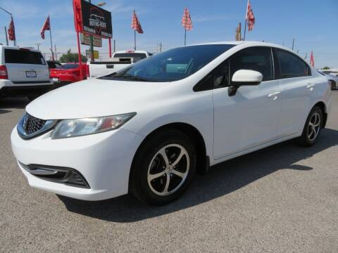 2015 Honda Civic for sale at Moving Rides in El Paso TX