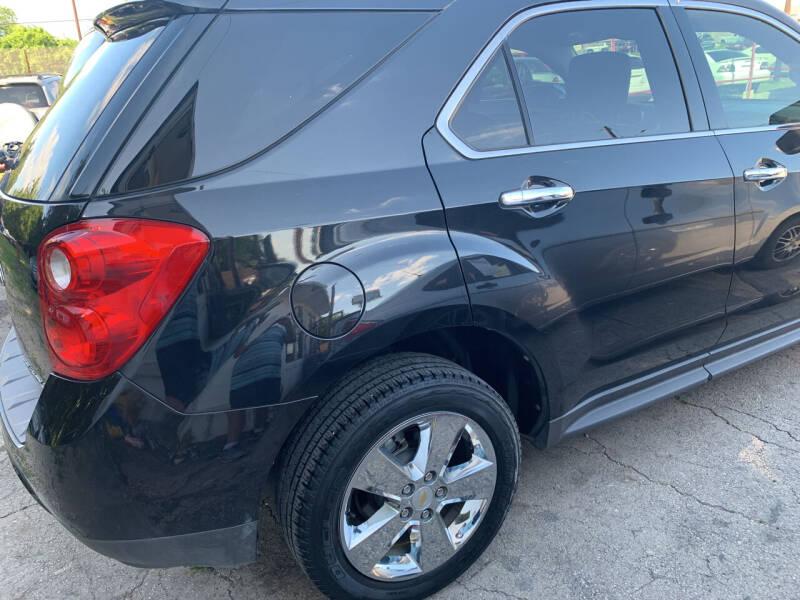 2012 Chevrolet Equinox for sale at BULLSEYE MOTORS INC in New Braunfels TX