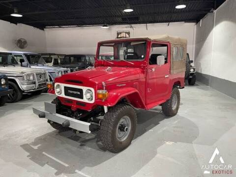 1981 Toyota Land Cruiser for sale at AutoCar Exotics in Medley FL