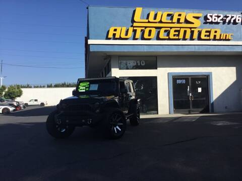 2016 Jeep Wrangler Unlimited for sale at Lucas Auto Center in South Gate CA