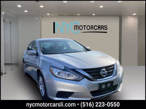2017 Nissan Altima for sale at NYC Motorcars in Freeport NY