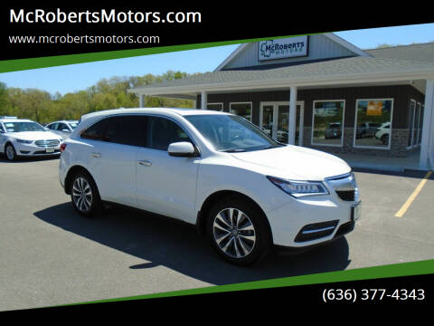 2016 Acura MDX for sale at McRobertsMotors.com in Warrenton MO