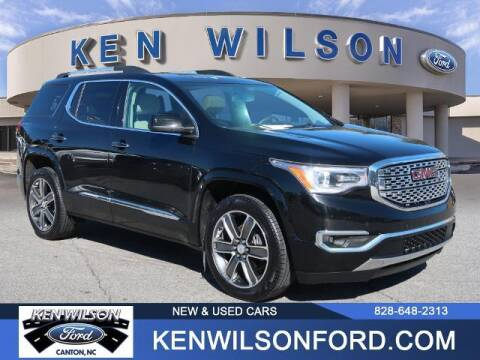 2017 GMC Acadia for sale at Ken Wilson Ford in Canton NC
