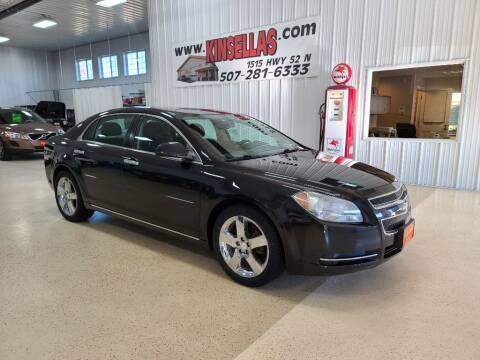 2012 Chevrolet Malibu for sale at Kinsellas Auto Sales in Rochester MN