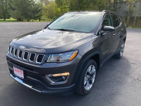 2018 Jeep Compass for sale at Louisburg Garage, Inc. in Cuba City WI
