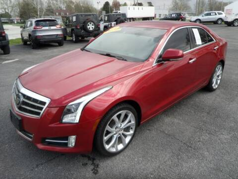 2013 Cadillac ATS for sale at CARSON MOTORS in Cloverdale IN