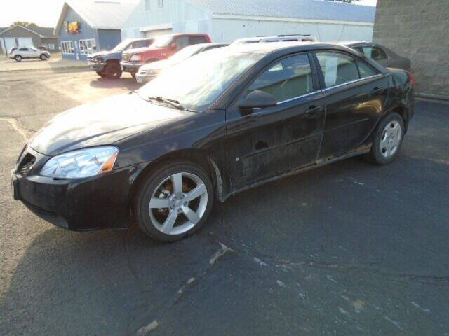 2007 Pontiac G6 for sale at SWENSON MOTORS in Gaylord MN