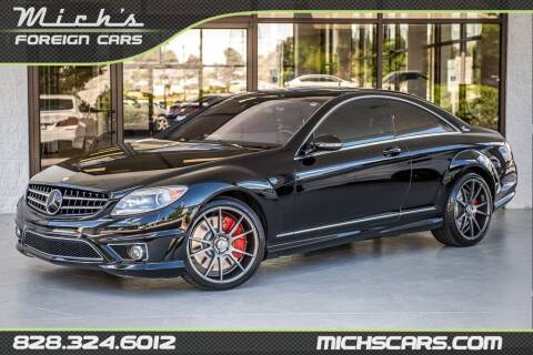 2008 Mercedes-Benz CL-Class for sale at Mich's Foreign Cars in Hickory NC