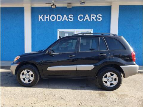 2005 Toyota RAV4 for sale at Khodas Cars in Gilroy CA