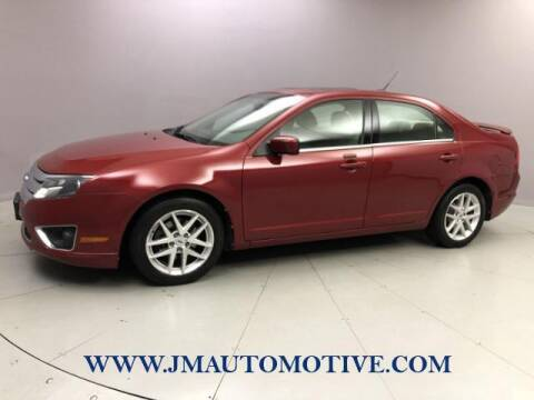 2010 Ford Fusion for sale at J & M Automotive in Naugatuck CT