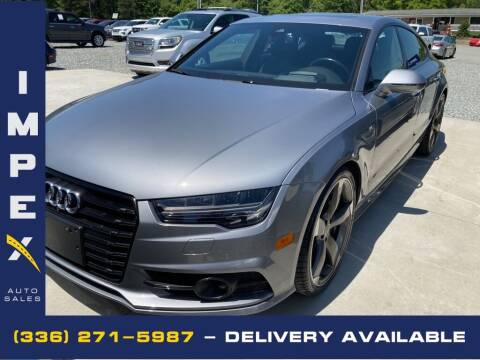 2017 Audi S7 for sale at Impex Auto Sales in Greensboro NC