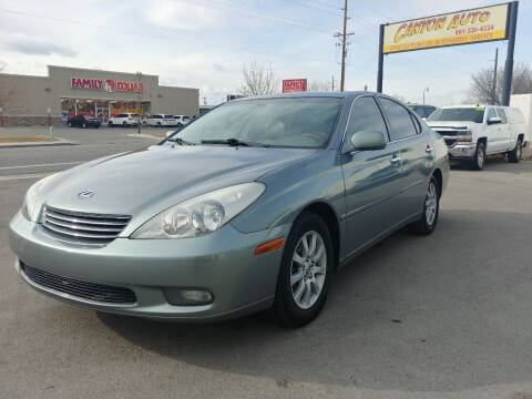 2003 Lexus ES 300 for sale at Canyon Auto Sales in Orem UT