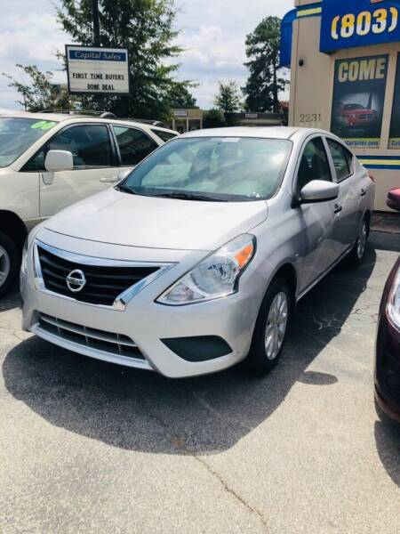 2016 Nissan Versa for sale at Capital Car Sales of Columbia in Columbia SC