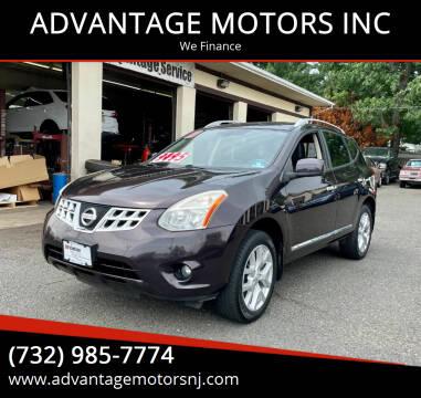 2011 Nissan Rogue for sale at ADVANTAGE MOTORS INC in Edison NJ