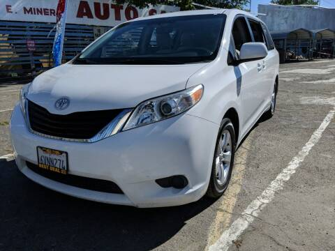 2012 Toyota Sienna for sale at Best Deal Auto Sales in Stockton CA