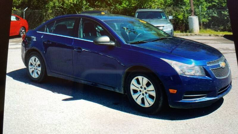2012 Chevrolet Cruze for sale at CARS PLUS MORE LLC in Cowan TN