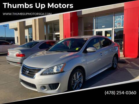 2013 Nissan Sentra for sale at Thumbs Up Motors in Warner Robins GA