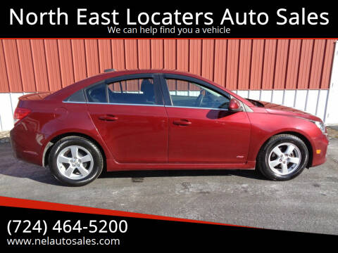 2016 Chevrolet Cruze Limited for sale at North East Locaters Auto Sales in Indiana PA