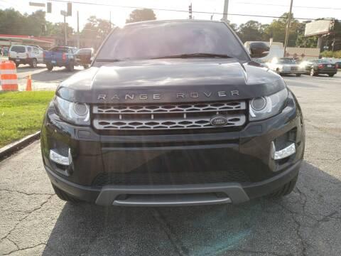 2013 Land Rover Range Rover Evoque for sale at Atlanta Fine Cars in Jonesboro GA