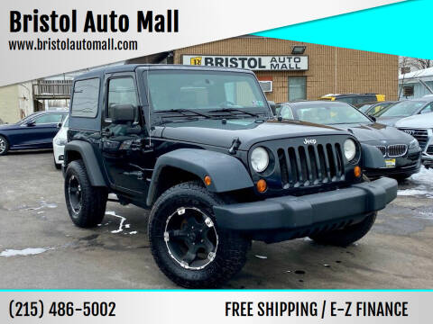 2007 Jeep Wrangler for sale at Bristol Auto Mall in Levittown PA