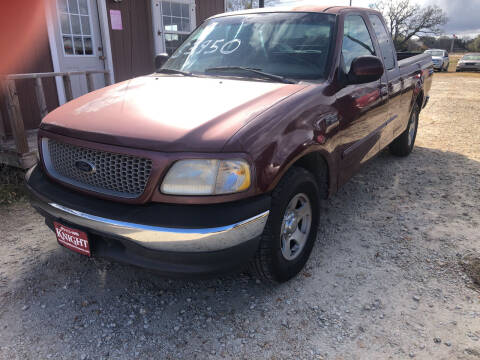 1999 Ford F-150 for sale at Knight Motor Company in Bryan TX