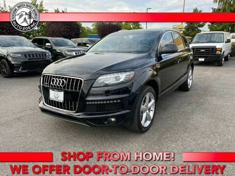 2014 Audi Q7 for sale at Auto 206, Inc. in Kent WA