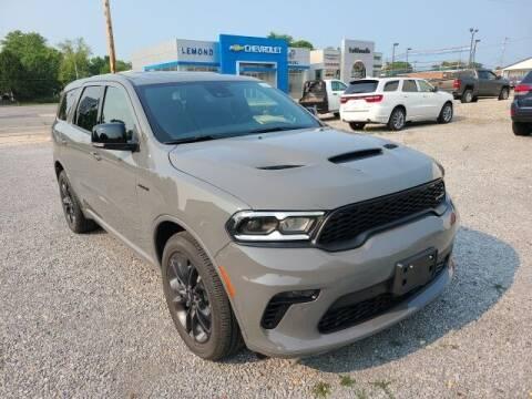 2021 Dodge Durango for sale at LeMond's Chevrolet Chrysler in Fairfield IL
