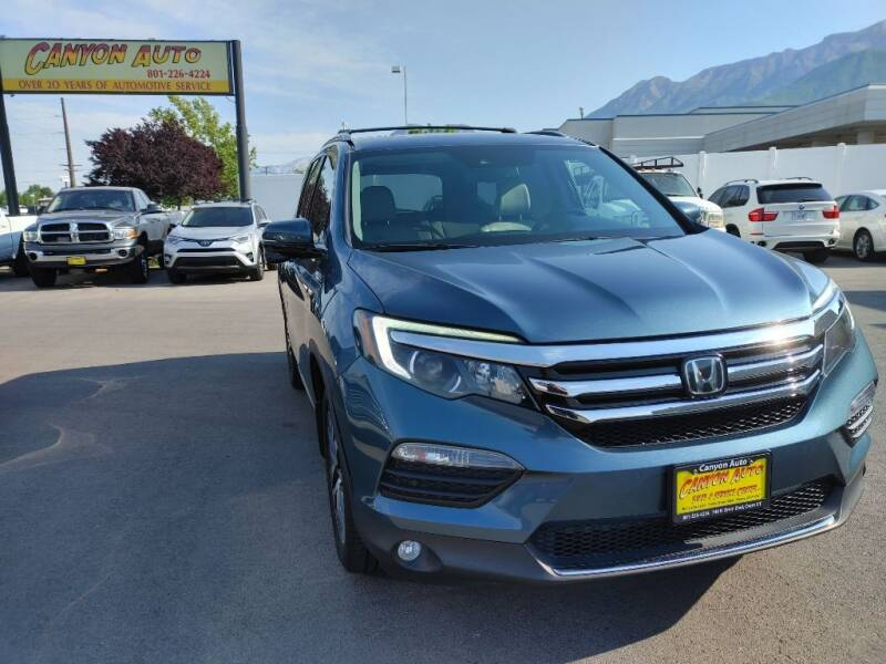2016 Honda Pilot for sale at Canyon Auto Sales in Orem UT