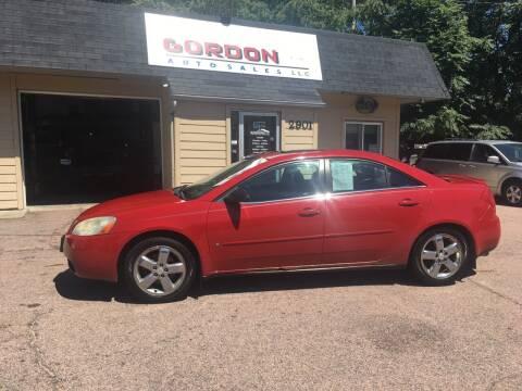 2006 Pontiac G6 for sale at Gordon Auto Sales LLC in Sioux City IA