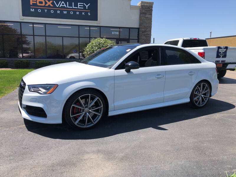 2016 Audi S3 for sale at Fox Valley Motorworks in Lake In The Hills IL