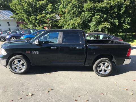 2016 RAM Ram Pickup 1500 for sale at MICHAEL MOTORS in Farmington ME