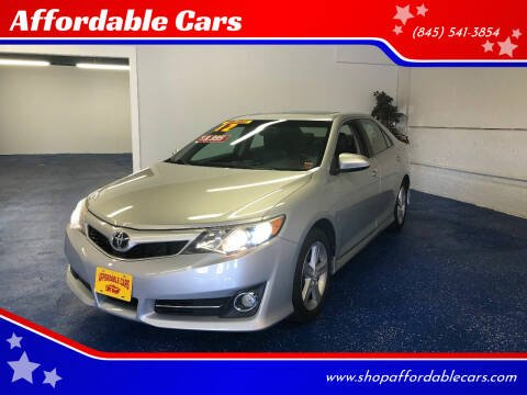 2012 Toyota Camry for sale at Affordable Cars in Kingston NY