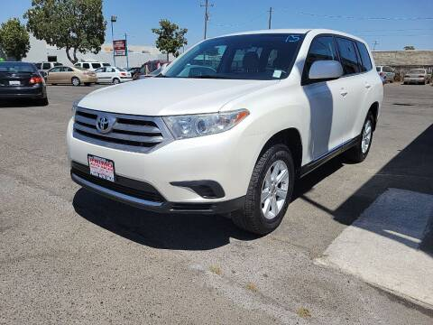 2013 Toyota Highlander for sale at Primo Auto Sales in Merced CA