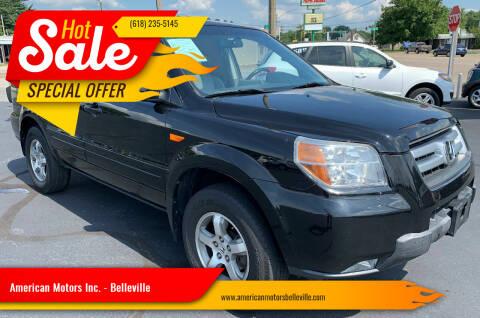 2008 Honda Pilot for sale at American Motors Inc. - Belleville in Belleville IL