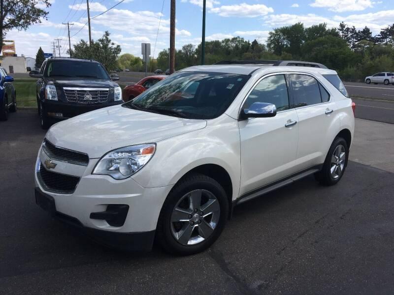 2014 Chevrolet Equinox for sale at Premier Motors LLC in Crystal MN