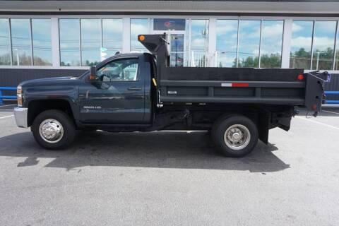 2018 Chevrolet SILVERADO K3500 LT for sale at Diesel World Truck Sales - Dump Truck in Plaistow NH