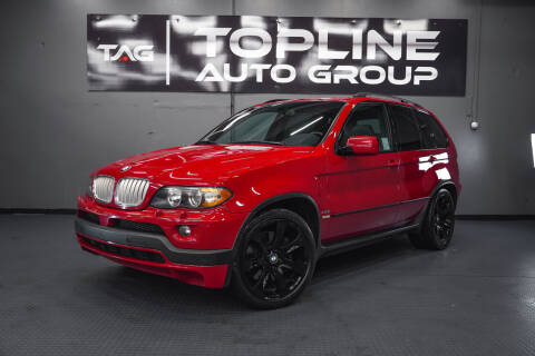 2006 BMW X5 for sale at TOPLINE AUTO GROUP in Kent WA