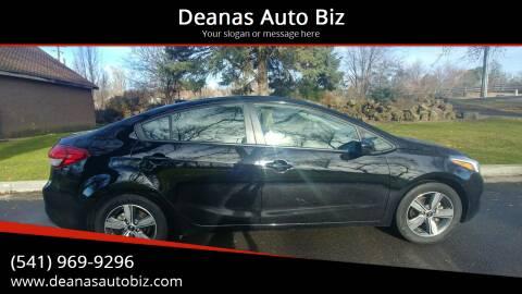 2018 Kia Forte for sale at Deanas Auto Biz in Pendleton OR